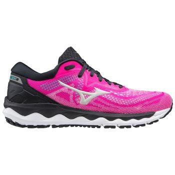 Mizuno WAVE SKY 4, ženski tekaški copati, roza