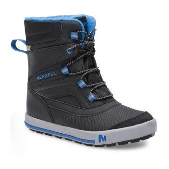 Merrell ML-SNOW BANK 2.0 WTRPF, otroški čevlji, modra