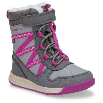 Merrell SNOW CRUSH 2.0 JR WTRPF, otroški čevlji, siva