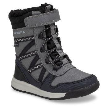 Merrell SNOW CRUSH 2.0 JR WTRPF, otroški škornji, črna