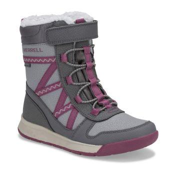 Merrell SNOW CRUSH 2.0 WTRPF, otroški škornji, siva