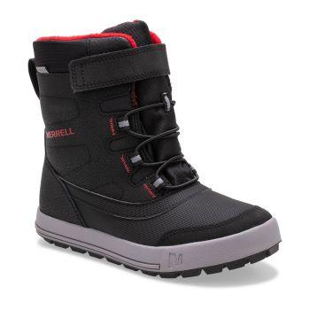 Merrell SNOW STORM WTRPF, otroški čevlji, črna