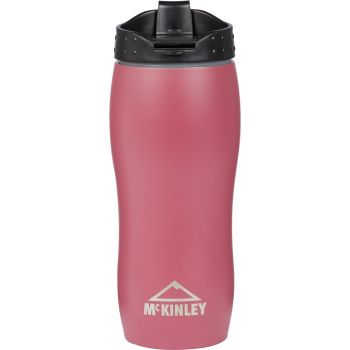 McKinley STAINLESS STEEL DOUBLE TRAVEL MUG, skodelica, rdeča