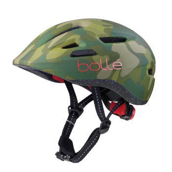 Bolle STENCE JR., otroška kolesarska čelada, zelena