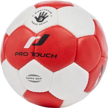 Pro Touch SUPER GRIP, rokometna žoga, bela