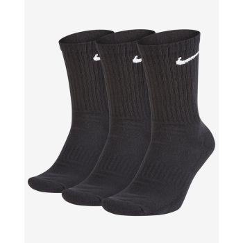 Nike U NK EVERYDAY CUSH CREW 3PR, nogavice m.kr fit, črna