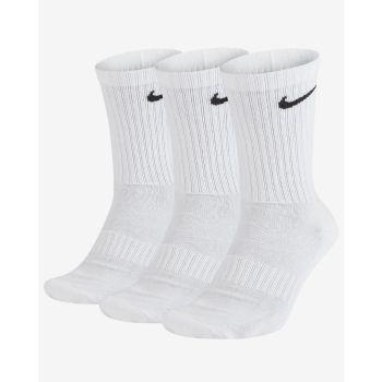 Nike U NK EVERYDAY CUSH CREW 3PR, nogavice m.kr fit, bela