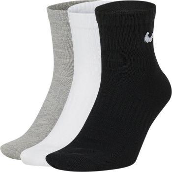 Nike U NK EVERYDAY LTWT ANKLE 3PR, nogavice m.kr fit, siva
