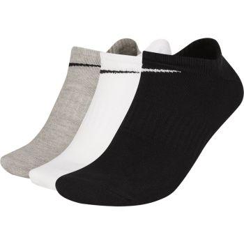 Nike U NK EVERYDAY LTWT NS 3PR, nogavice m.kr fit, črna