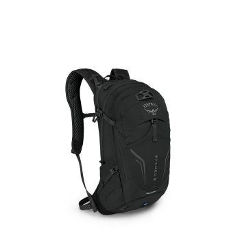 Osprey SYNCRO 12, kolesarski nahrbtnik, črna