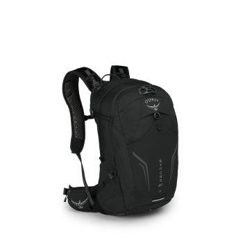 Osprey SYNCRO 20, kolesarski nahrbtnik, črna