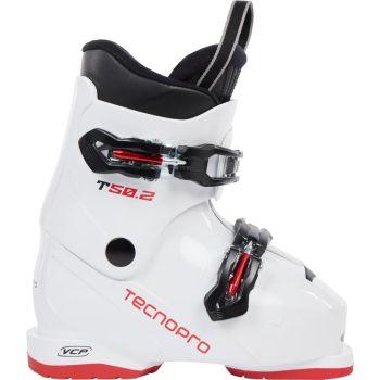 Tecnopro T50-2, otroški smučarski čevlji, bela