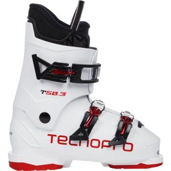 Tecnopro T50-3, otroški smučarski čevlji, bela