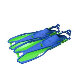 Tecnopro F6 C TRAVEL JR, otroške plavuti, modra