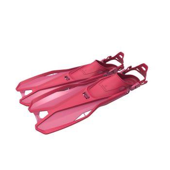 Tecnopro F6 C TRAVEL JR, otroške plavuti, roza