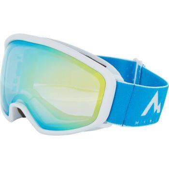 McKinley TEN-SEVEN REVO, otroška smučarska očala, bela