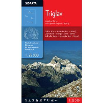 Sidarta TRIGLAV, zemljevid