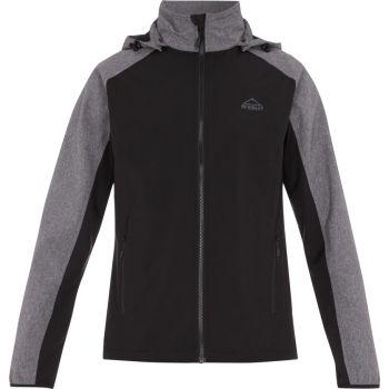 McKinley TRUNDLE II UX, moška pohodna jakna, črna