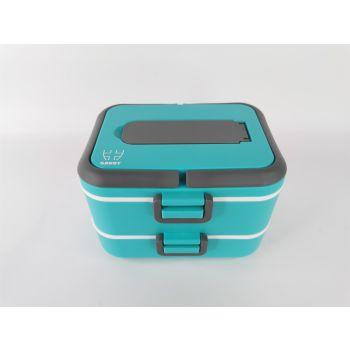 Savoy TWO LAYERS THERMAL LUNCH BOX, posoda, modra