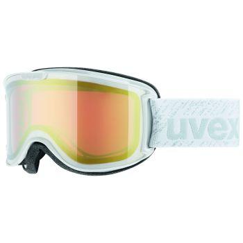 Uvex SKYPER, ženska smučarska očala, bela