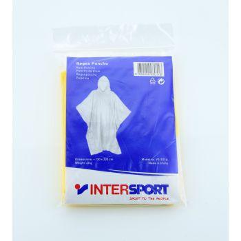 Intersport RAIN PONCHO, moška pohodna palerina, rumena