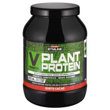 Enervit GYMLINE V PLANT PROTEIN 900G, športna prehrana, črna