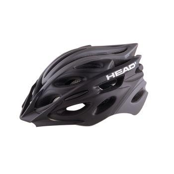 Head MTB W07 IN-MOULD, kolesarska čelada, črna