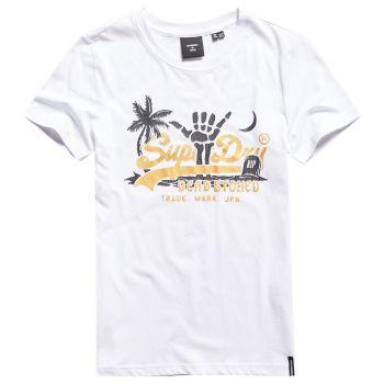 Superdry VL ITAGO TEE, ženska majica, bela