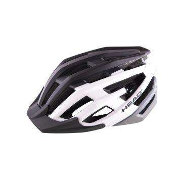 Head MTB W19 IN-MOULD, kolesarska čelada, črna