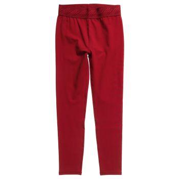 Superdry ESSENTIAL 7/8 LEGGING, ženske pajke, rdeča
