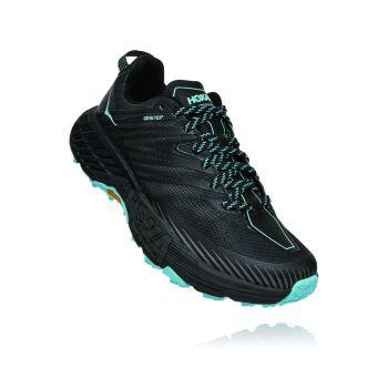 Hoka One One SPEEDGOAT 4 GTX W, ženski trail tekaški copati, črna