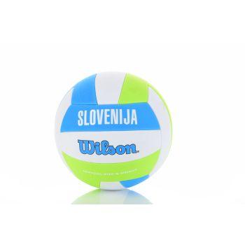 Wilson INTERSPORT SLOVENIA VB, odbojkarska žoga, zelena