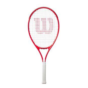 Wilson ROGER FEDERER 26, otroški tenis lopar, rdeča
