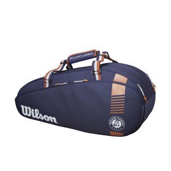 Wilson RG TEAM 6PK, torba, modra