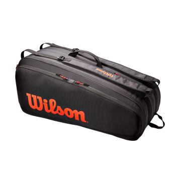 Wilson TOUR 12 PK, torba, rdeča