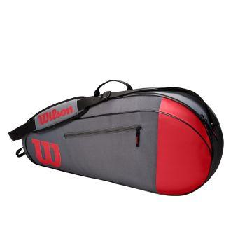 Wilson TEAM 3 PK, torba, rdeča