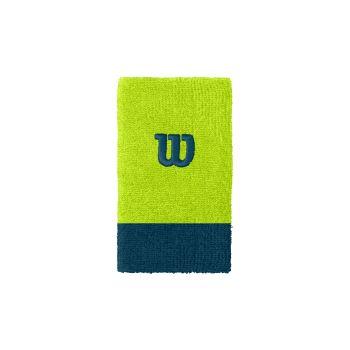 Wilson EXTRA WIDE W WRISTBAND, teniški znojnik, zelena