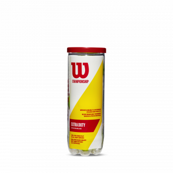 Wilson CHAMP XD 3 BALL, žoga za tenis, rumena
