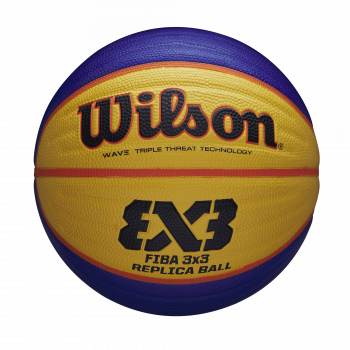 Wilson FIBA 3X3 REPLICA BALL 2020 WT, košarkarska žoga, modra