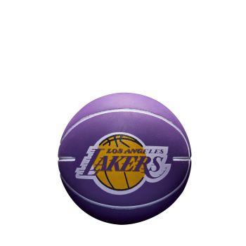 Wilson NBA DRIBBLER LA LAKERS, žoga mini, vijolična