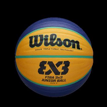Wilson FIBA 3X3 REPLICA JUNIOR, košarkarska žoga, modra