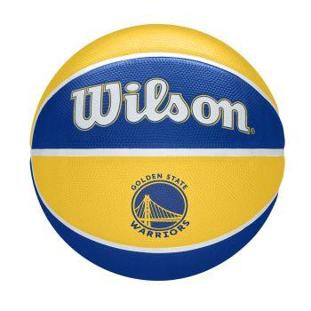 Wilson NBA TEAM TRIBUTE GOLDERN STATE WARRIORS, košarkarska žoga, rumena