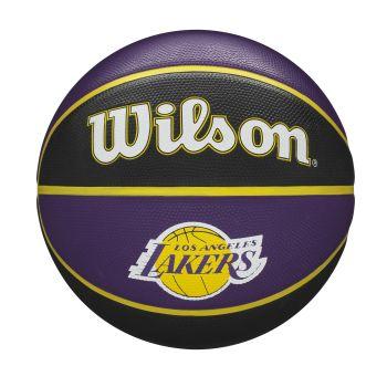 Wilson NBA TEAM TRIBUTE LA LAKERS, košarkarska žoga, vijolična