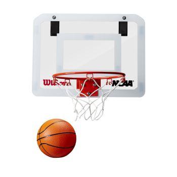 Wilson NCAA SHOWCASE MINI HOOP, košarkarski obroč, bela