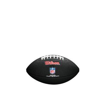 Wilson NFL TEAM LOGO MINI - PATRIOTS, črna