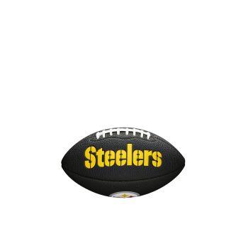 Wilson NFL TEAM LOGO - STEELERS, žoga za ameriški nogomet, črna