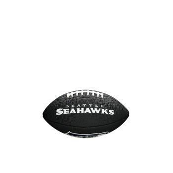 Wilson NFL TEAM LOGO - SEA HAWKS, žoga za ameriški nogomet, črna