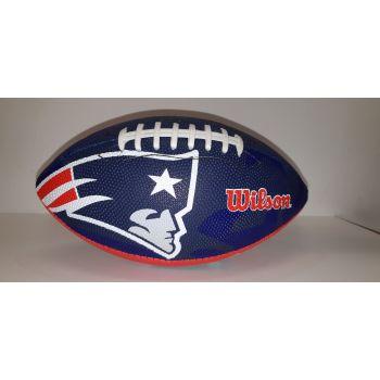 Wilson NFL TEAM LOGO - PATRIOTS, žoga za ameriški nogomet, modra