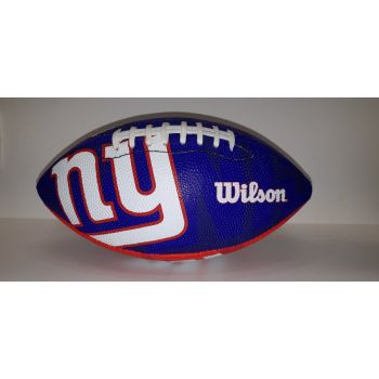 Wilson NFL TEAM LOGO - GIANTS, žoga za ameriški nogomet, modra