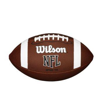 Wilson NFL OFFICIAL BULK, žoga za ameriški nogomet, rjava